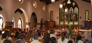 Students at mass - Students-at-mass