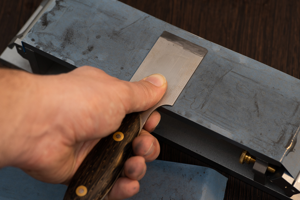 Sharpening your knife