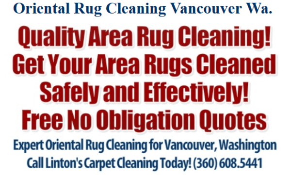 High Quality Oriental Rug Cleaning in Vancouver, Washington