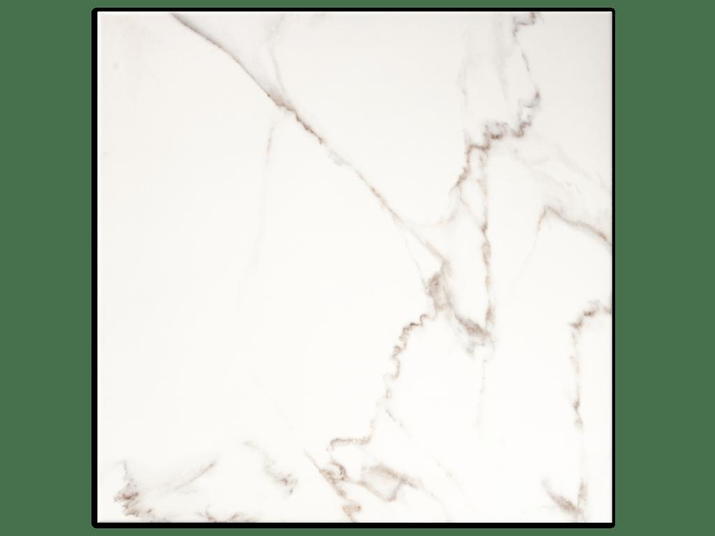 calacatta white porcelain floor marble