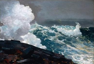 Northeaster (1895 – oil on canvas, 87.6 cm × 128 cm)