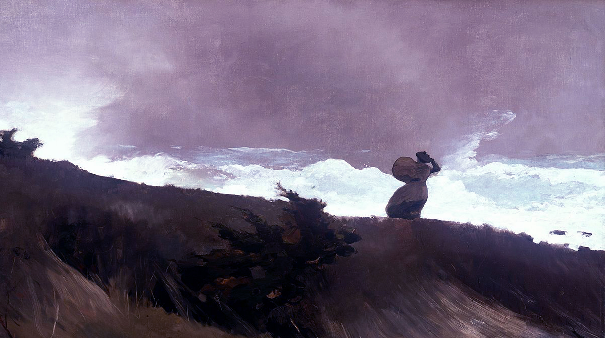 Views of the Fearsome Sea — The Great Oils of Winslow Homer — 1873 to 1909