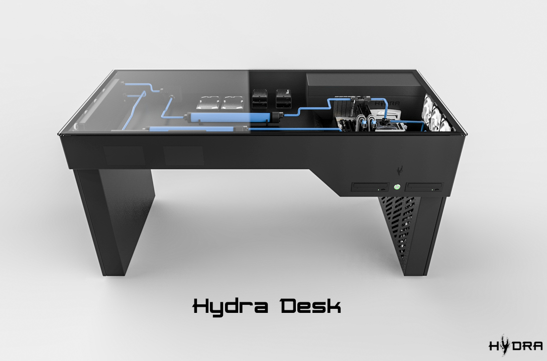 Hydra PC cases and Desk Cases Crowdfunding  Cases and