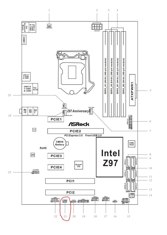 Desktop boots into UEFI, but nothing else