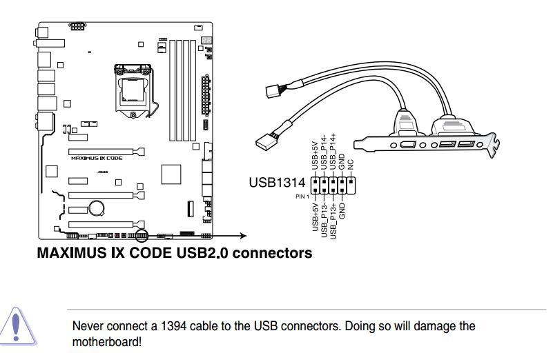usb 2 0 connector wiring diagram
