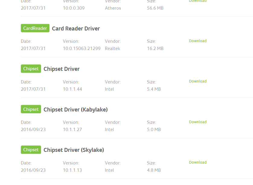 Driver for all device: Driver Acer Update