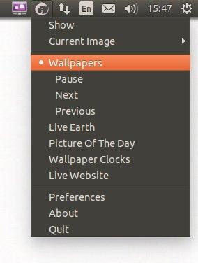 Wallch запуск программы для смены фона Ubuntu / Linux Mint