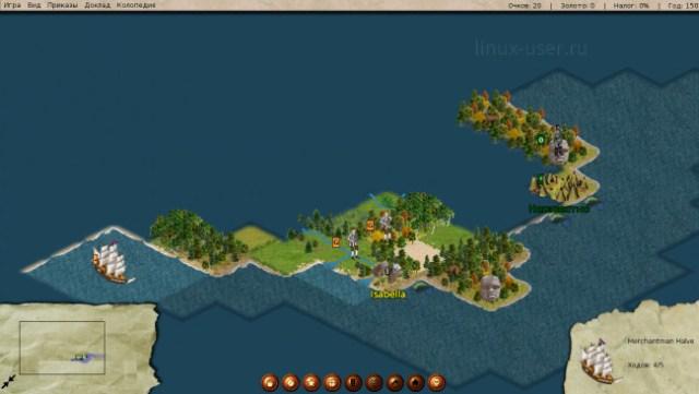 freecol подобие из серии игр Цивилизация