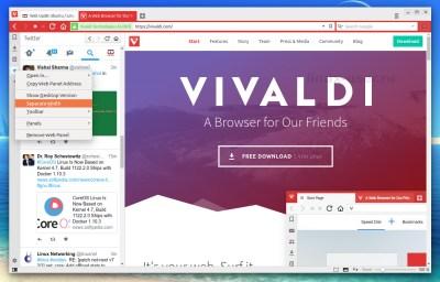 vivaldi 1.4 для linux