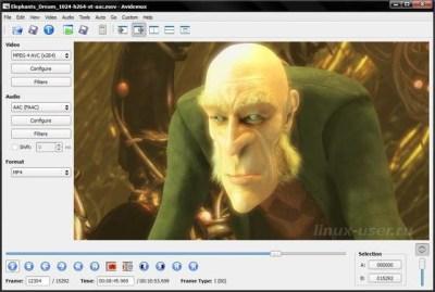 Видеоредактор для Linux Mint / Ubuntu