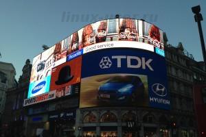 рекламный монитор для улицы