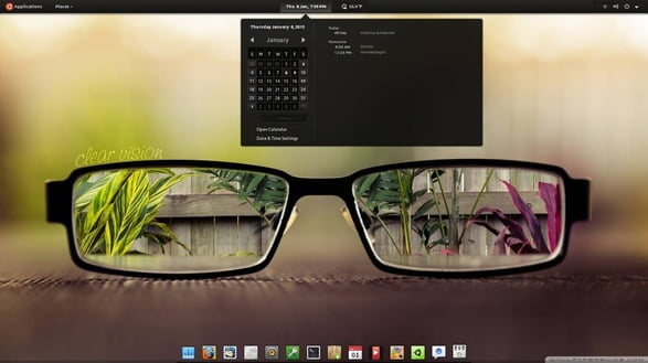 Black Gnome Linux Theme, Install In Fedora And Other Distros