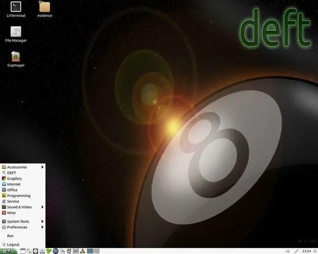 deft linux distro