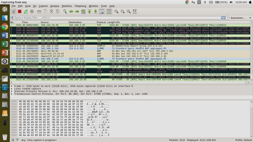 how to use wireshark in linux