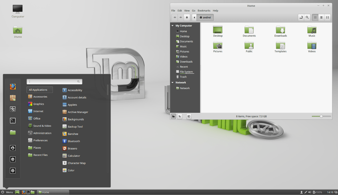Linux Mint 17 1 'REBECCA' Available For Download - LinuxAndUbuntu
