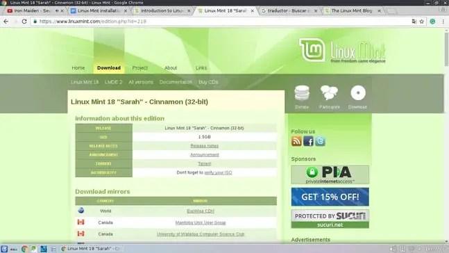 linux mint download