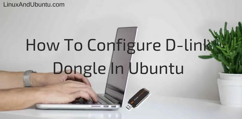 How to configure D-Link on Ubuntu