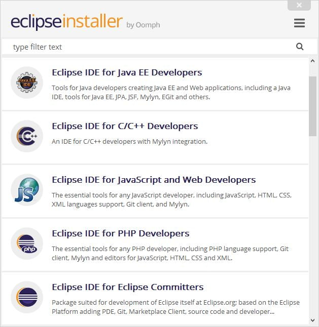 eclipse installer language tools