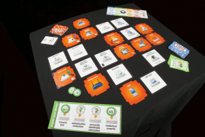 Open Source Board Game about Network Security: d0x3d