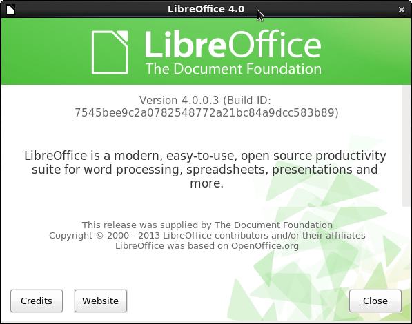 How to Install LibreOffice 4.0.0 on CentOS 6/RHEL 6.3 (3/3)