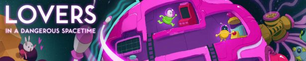 lovers in a dangerous spacetime co-op space shooter linux mac windows pc