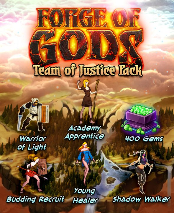 team of justice dlc pack released forge of gods linux steamos pc