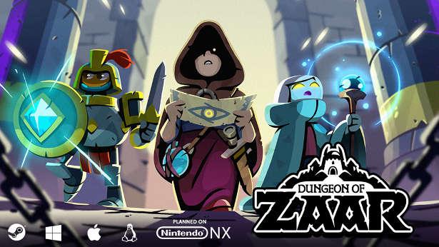 Dungeon of Zaar dungeon crawler on Kickstarter for linux mac pc