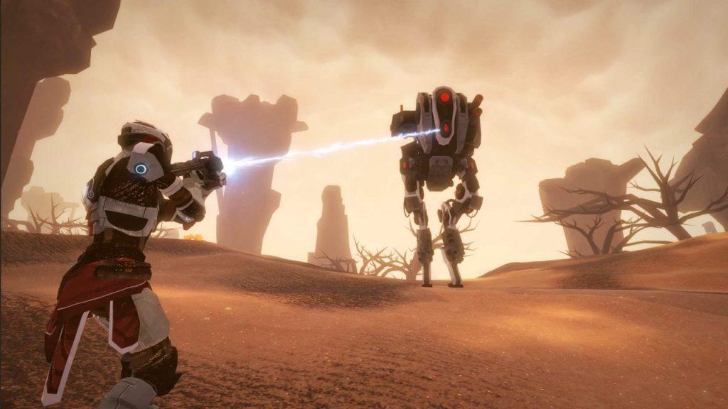 sky break sci-fi survival action rpg screenshot