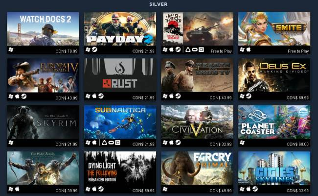 Steam Top 100 Best Sellers Of 2016 For Linux Mac Pc