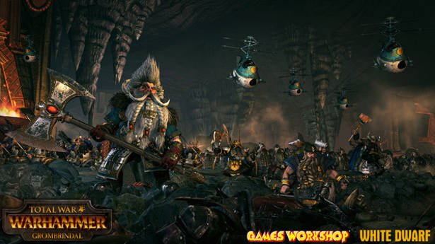 total war warhammer free dlc grombrindal available linux steamos