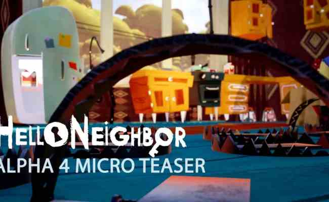 Hello Neighbor Alpha 4 On May 4th Win A Key Linux Game