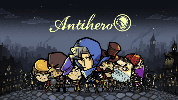 antihero turn-based strategy in linux mac windows games
