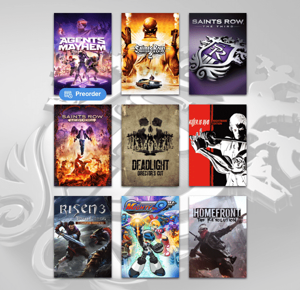 humble saint's row bundle of games launches linux mac windows pc