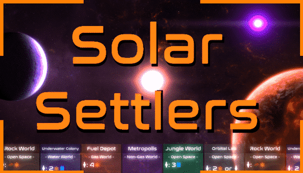 solar settlers card-driven strategy launches in linux mac windows games