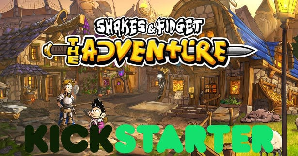 shakes and fidget the adventure hits kickstarter linux ubuntu mac windows games 2017