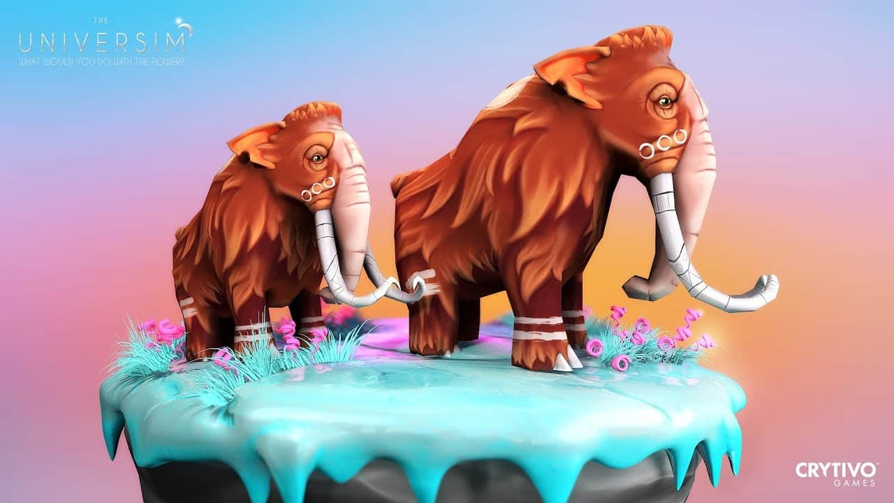 the universim gets a pumpkin patch furry mammoth on linux mac windows