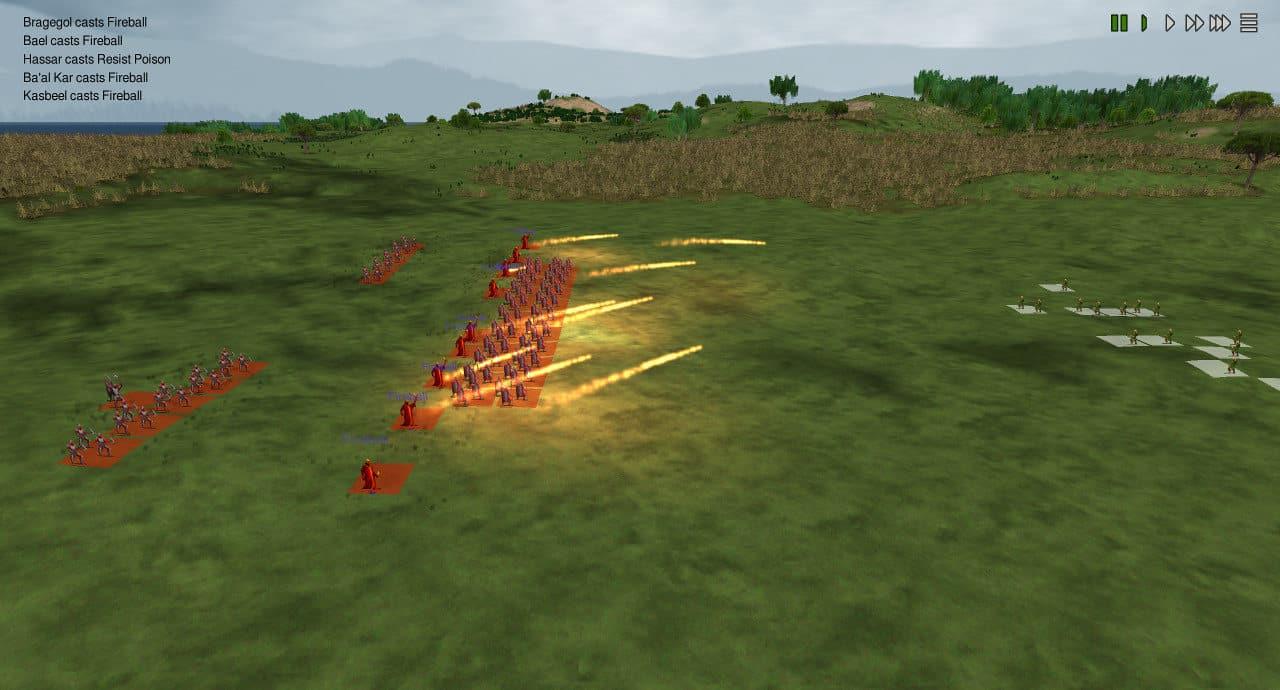dominions 5 turn based strategy linux mac windows screenshot fireball