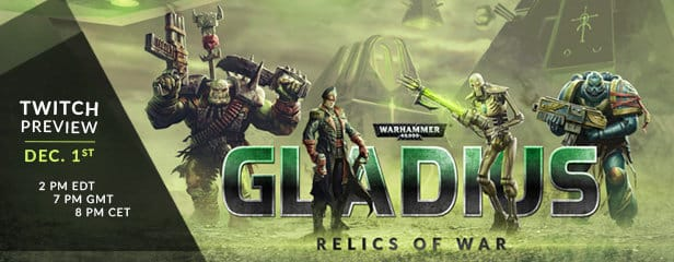 warhammer 40,000: gladius coming to linux and windows games 2017