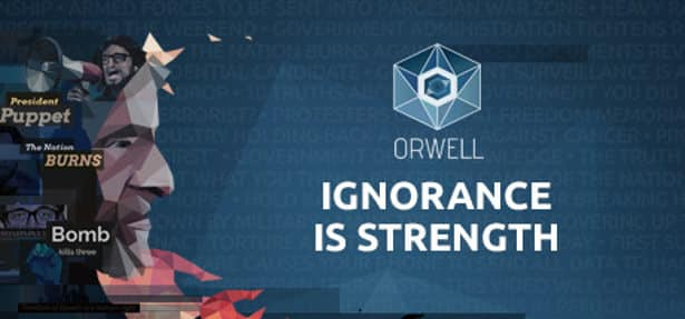 orwell ignorance is strength political simulation the official launch for linux mac windows games