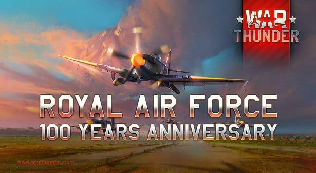 war thunder celebrates 100 years of royal air force on linux mac windows