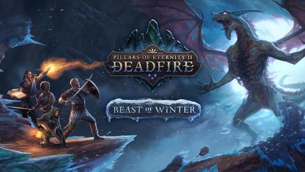 pillars of eternity II deadfire announces beast of winter for linux mac windows