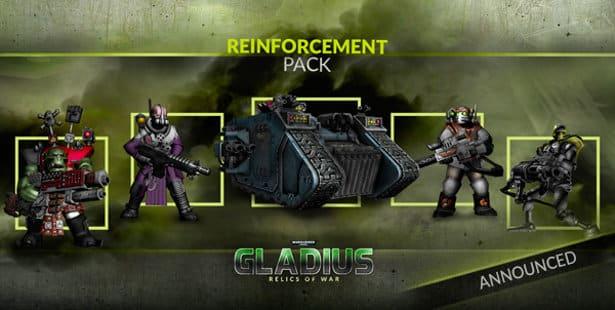 warhammer 40k gladius dlc reinforcement pack release date linux windows