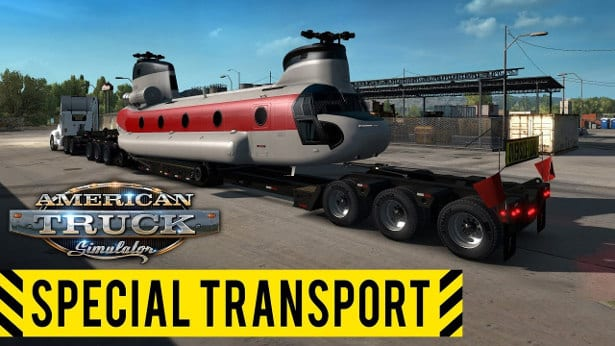 american truck simulator special transport dlc for linux mac windows
