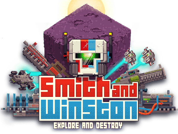 smith and winston voxel shooter hits steam games for linux mac windows