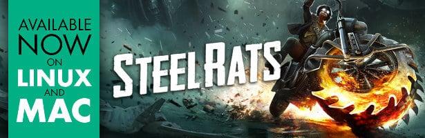 steel rats ride or die platformer now in linux mac games