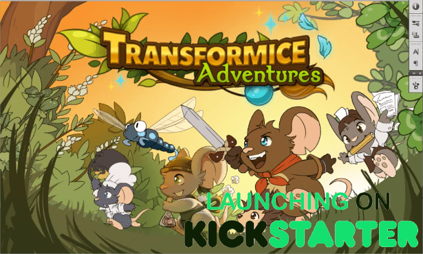 transformice adventures games coming to kickstarter for linux mac windows pc games