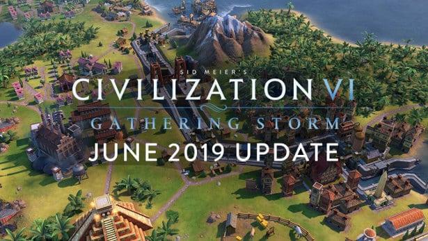 gathering storm june update for civilization vi in linux mac windows pc games