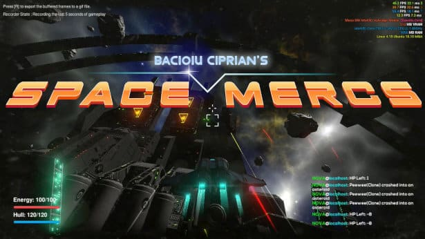 space mercs space combat linux windows pc games release date