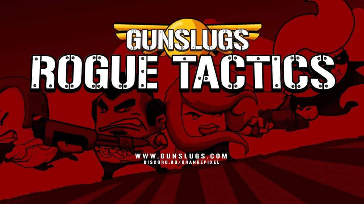 gunslugs rogue tactics will launch August 6th for linux mac windows pc