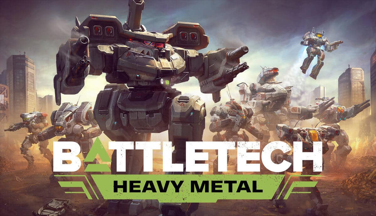 heavy metal expansion release is new for battletech on linux mac windows pc